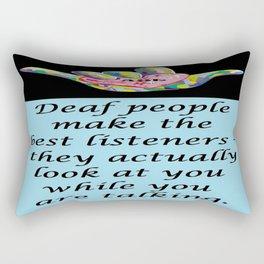 Best Listeners Rectangular Pillow