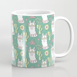 Cute calm llama in sunglasses Coffee Mug