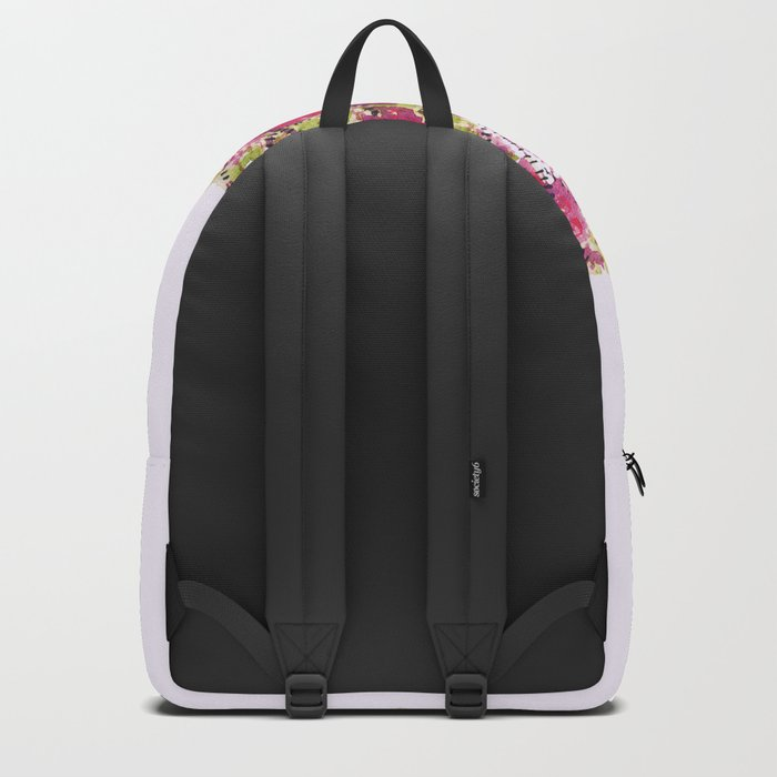 Pretty Colorful Watercolor Autumn Leaf Backpack