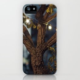 Isn't it a lovely night? iPhone Case