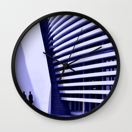 Two Men Monte-Carlo Wall Clock