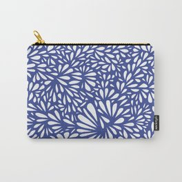 White Drops Carry-All Pouch