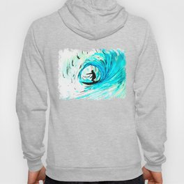 Solo - Surfing the big blue wave Hoody