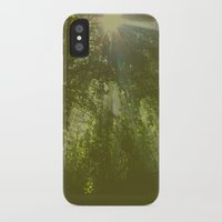 emerald iPhone & iPod Cases featuring Emerald by Ellie Rose Flynn