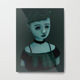 Night Girl II Metal Print