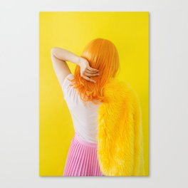 vivian as me Canvas Print