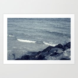 Silent Waves Art Print