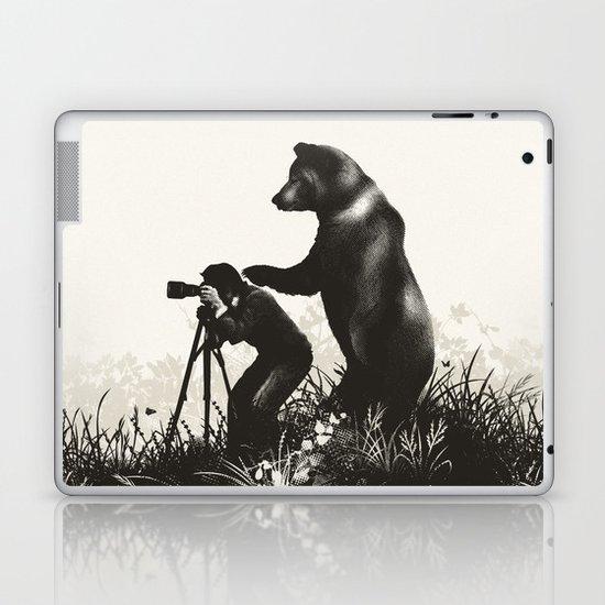 The Bear Encounter II Laptop & iPad Skin