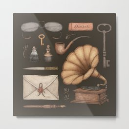 A Sophisticated Assemblage Metal Print