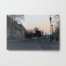Le Petit Palais Metal Print