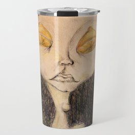 Lemon Eyed Travel Mug