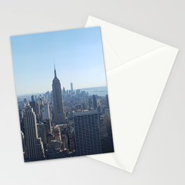Empire State Building, New York Skyline Stationery Cards