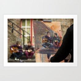 Artist at Work Art Print