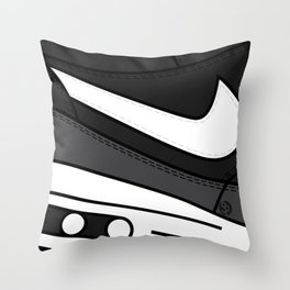 SNEAKERPILLOW - NIKE AIR MAX ONE /black, Grey, White Throw Pillow