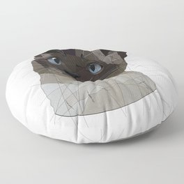 Siamese Cat Floor Pillow