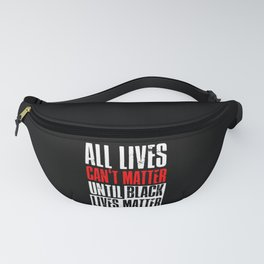 Black Lives Matter Outfit Ideas Fanny Pack