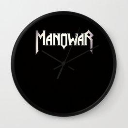 ManOwar logo Wall Clock