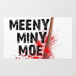Eeny Meeny Miny Moo Shirt Rug