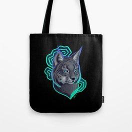 Luminous Lynx Tote Bag