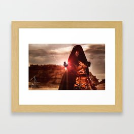 Revan Cosplay II Framed Art Print