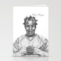 oitnb Stationery Cards featuring Crazy Eyes from OITNB by nilelivingston