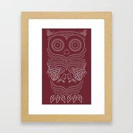 O&P: Nature's Owl Framed Art Print