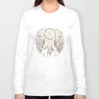 dreamcatcher Long Sleeve T-shirts featuring Dreamcatcher by Julia