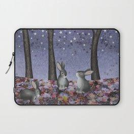 starlit bunnies Laptop Sleeve