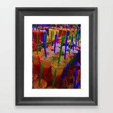 Cold Chill Framed Art Print