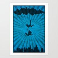 bioshock infinite Art Prints featuring Bioshock Infinite by FelixT