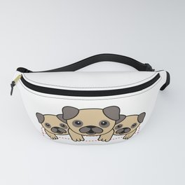 I Want Them All - cute puppies in the pocket - dog lovers alert - best seller Fanny Pack