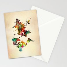 A Painted World Stationery Cards