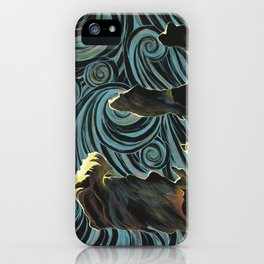 Pillars of Creation/Starry Night iPhone Case
