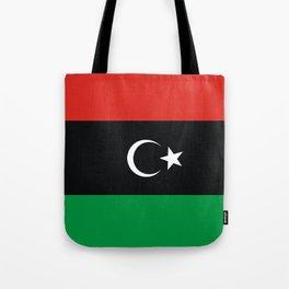libya country flag Tote Bag