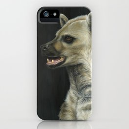 Hyena Animal Painting | Wildlife Art | Mammal | Nature | African iPhone Case