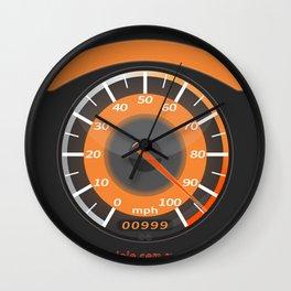 fast eye Wall Clock