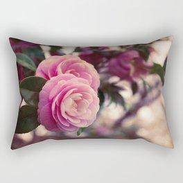 Pink camellia Rectangular Pillow
