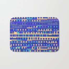 Beethoven Moonlight Sonata (Blues) Bath Mat