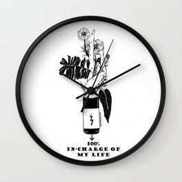 Be Incharge Wall Clock