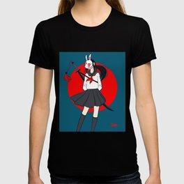 Kitsune Bunny Warrior T-shirt
