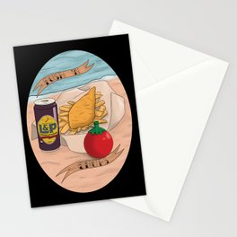Kiwiana banner Series - Fush N Chups Stationery Cards