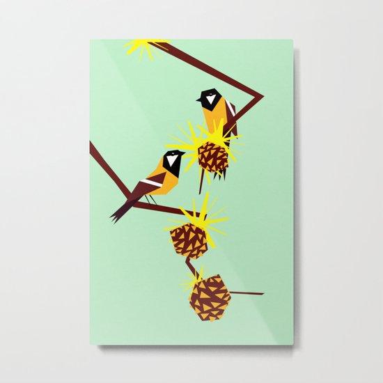 2 little birds Metal Print