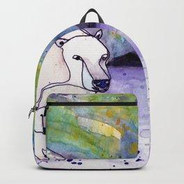 Polar Bear Mommy Backpack
