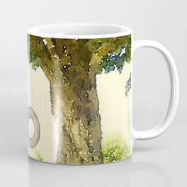 Tire Swing Coffee Mug