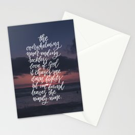 Reckless Love Stationery Cards