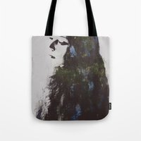 grace Tote Bags featuring Grace by  Maʁϟ