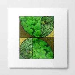 Fibonacci Chic (Layers #2) Metal Print