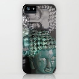 Scattered Buddhas iPhone Case