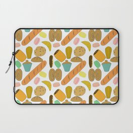 Patisseries de France French Pastries and Breads Laptop Sleeve