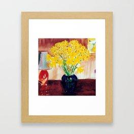 Daffodils  and Jonquils             by      Kay Lipton Framed Art Print